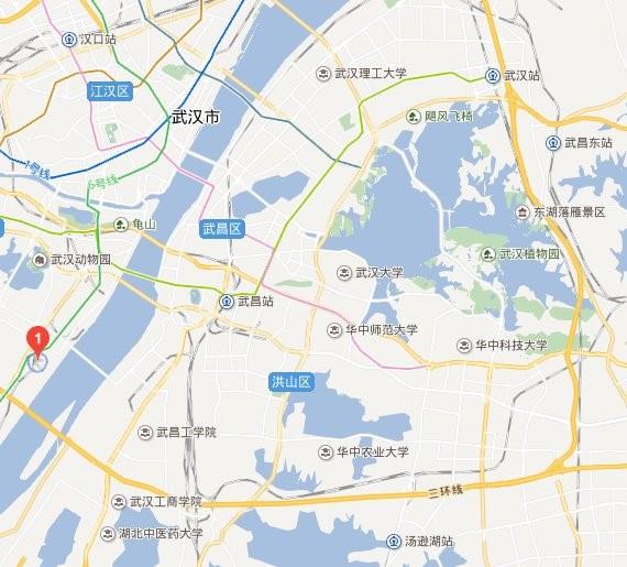 展会地址图